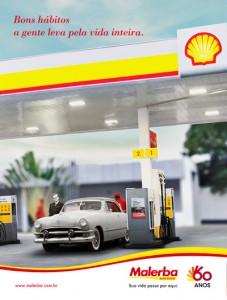 Anúncio comemorativo: 60 anos Malerba/Shell